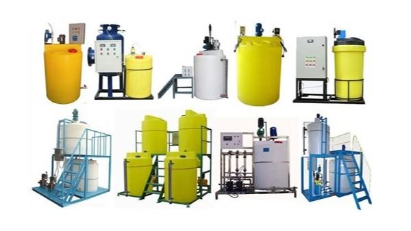 适用于污水加药混合的加药装置