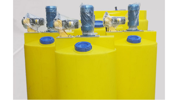 生活污水处理选择明业加药搅拌机