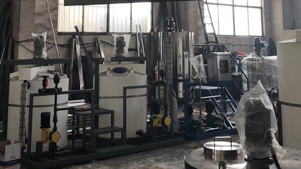 浙江污水处理——搅拌设备案例