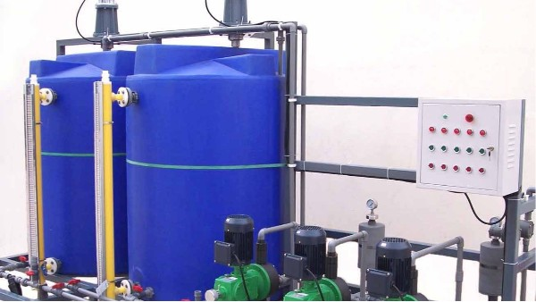明业机械混凝剂加药搅拌设备